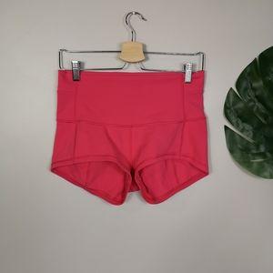 Lululemon in movement highrise shorts